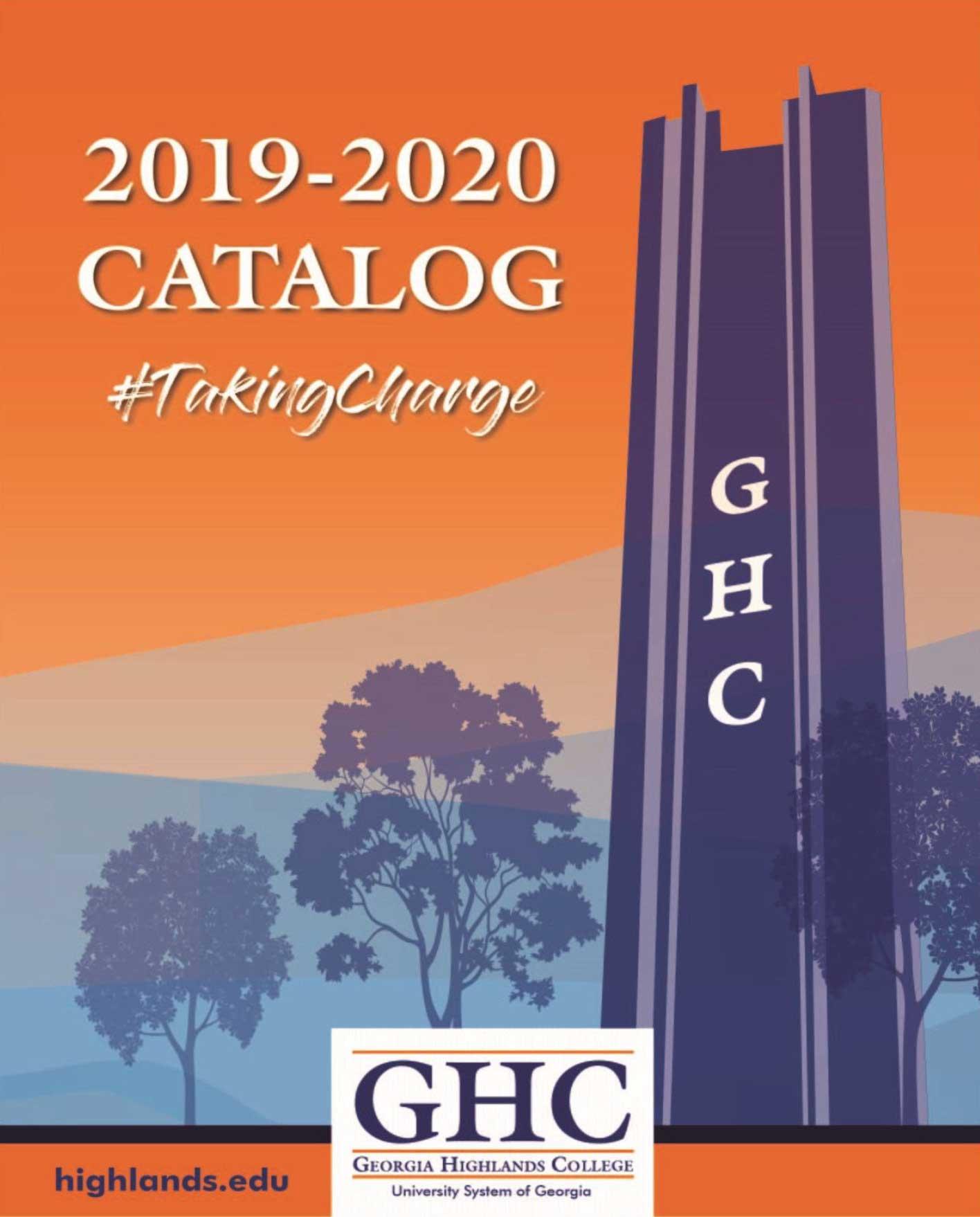 2019-2020 GHC Catalog