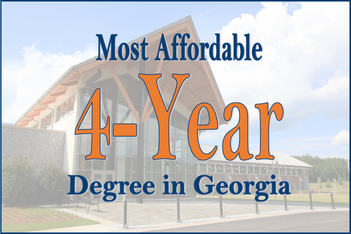 Most affordable 4-year degree in Georgia