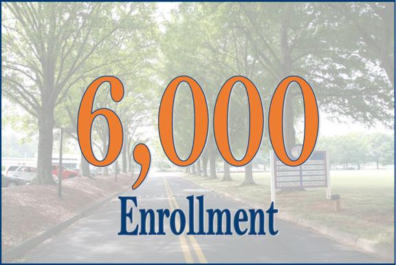 6,000 Enrollment