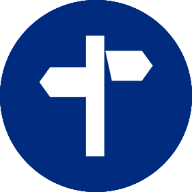 sign post icon