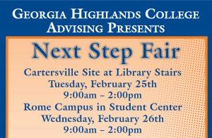 GHC Advising Presents: Next Step Fair