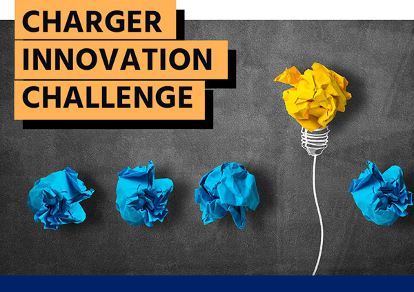 Charger Innovation Challenge - Lightbulb graphic