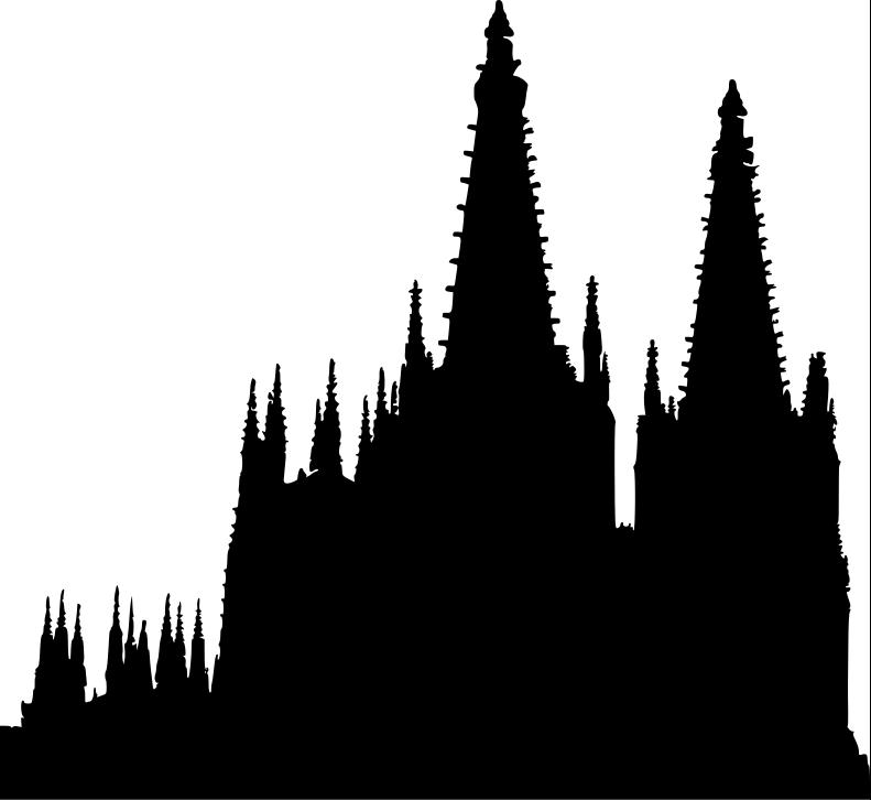 Gothic churchtops