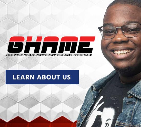 GHAME logo. B2B member, smiling