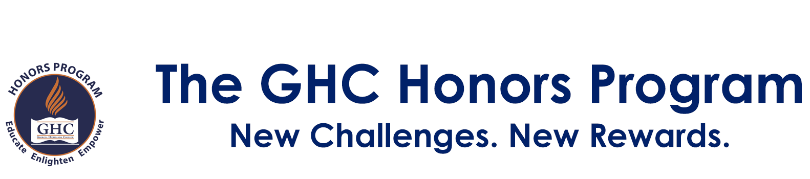 The GHC Honors Program. New Challenges. New Rewards.