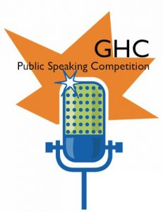 GHC Public Speaking Competition