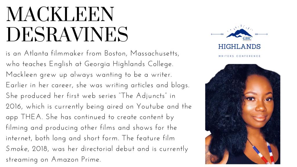 Mackleen Desravines image an bio
