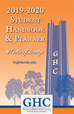 2019-2020 Student Handbook cover