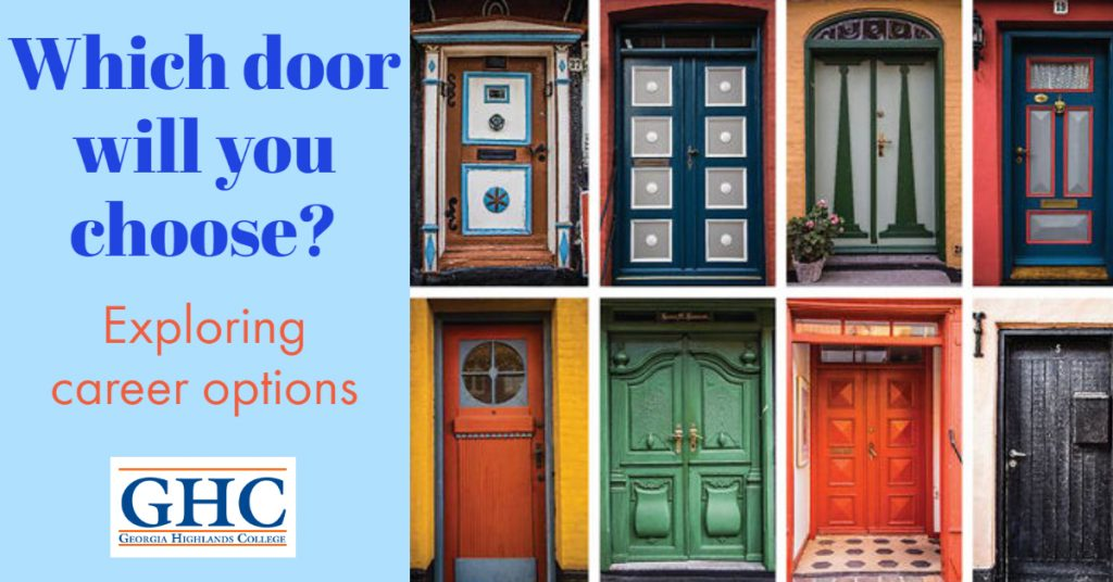 Which door will you choose? Exploring career options at GHC.
