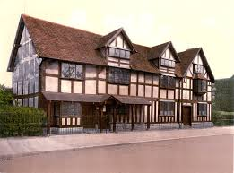 Shakespeare's birthplace at Stratford-Upon-Avon