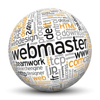 webmaster word cloud