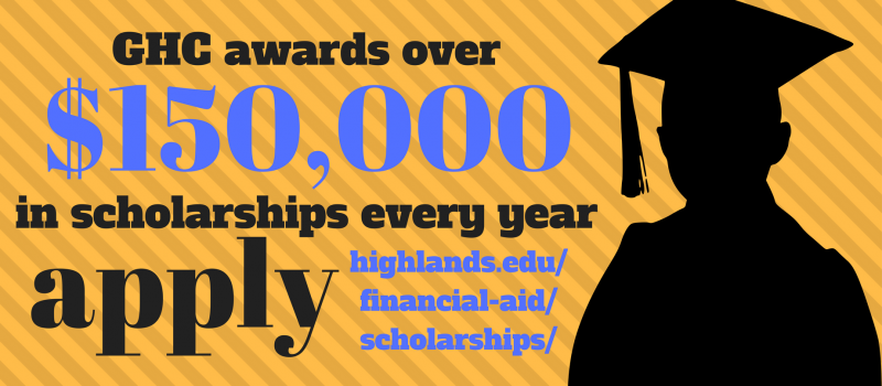 GHC awareds over $150,000 in scholarships each year. Apply, today.