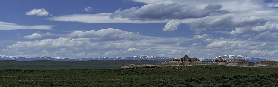 Mountain ranges in southern Wyoming